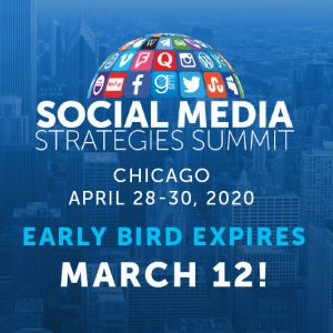 SMSS Chicago Early Bird Expires March 12!