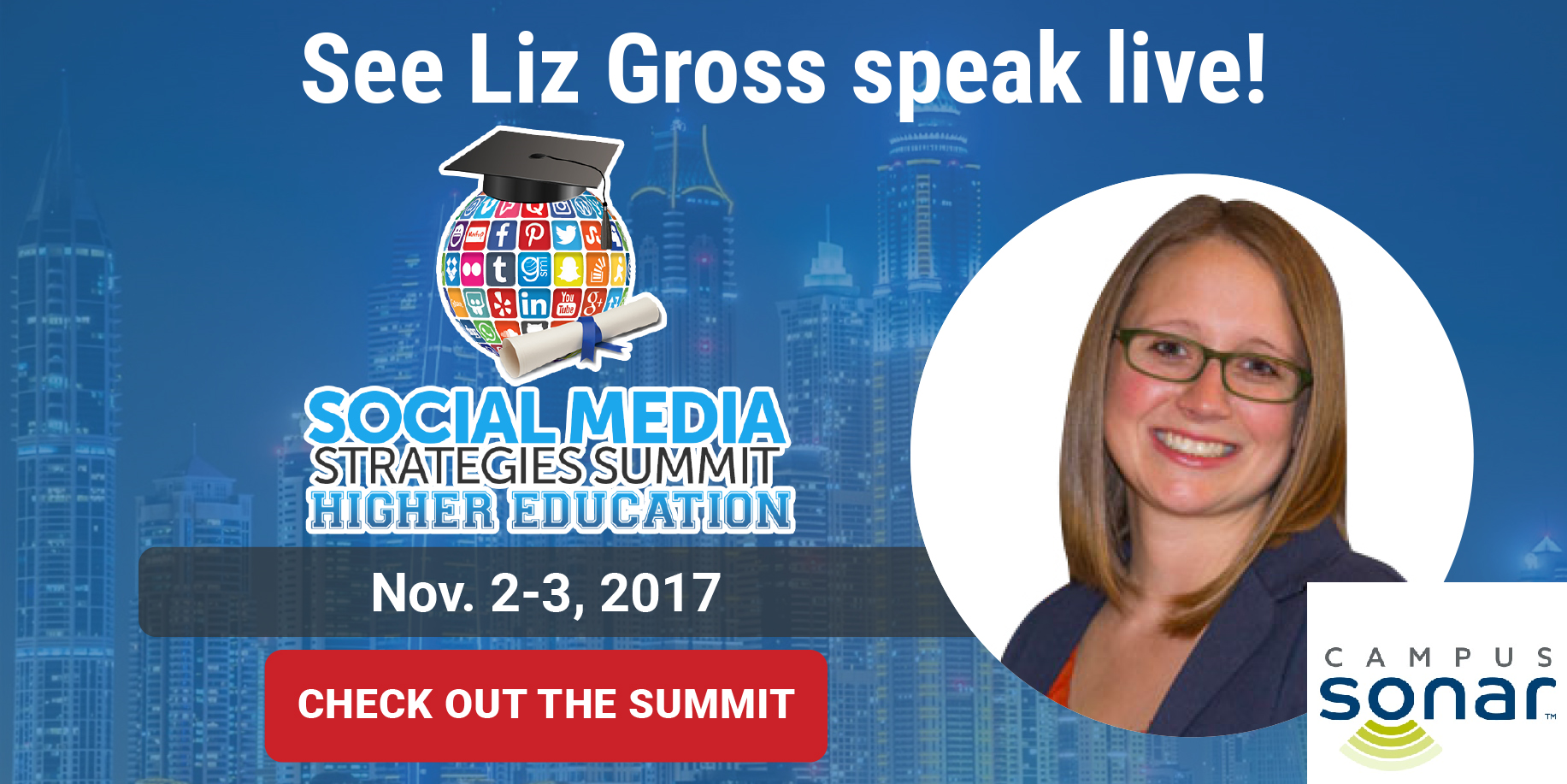 Liz Gross - Speaker at SMSS Higher Ed
