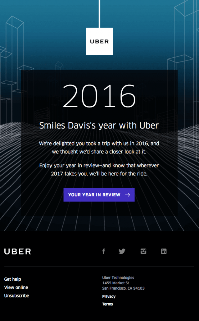Smiles Davis's year with Uber