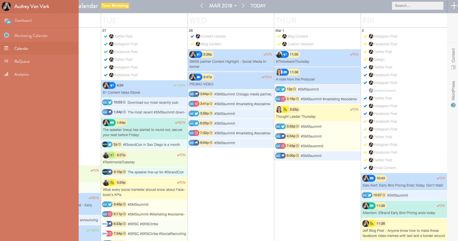 CoSchedule - Social Media Scheduling Tools
