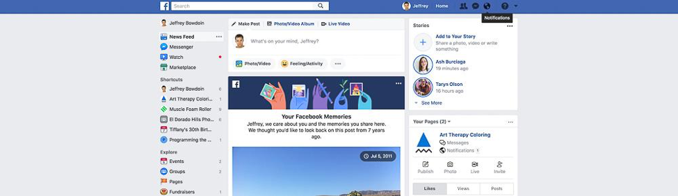 Content Tool for Social Media - Facebook Fan Pages