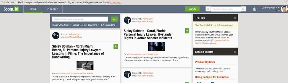 Content Tool for Social Media - Scoop.it