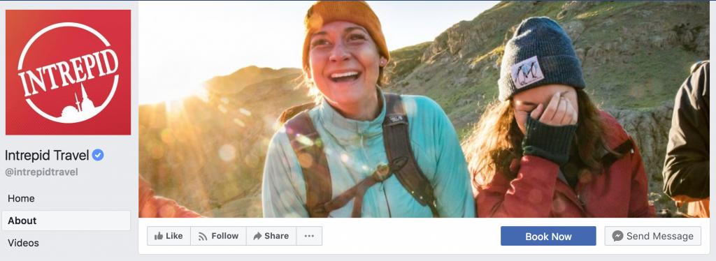 Intrepid Travel FB Page