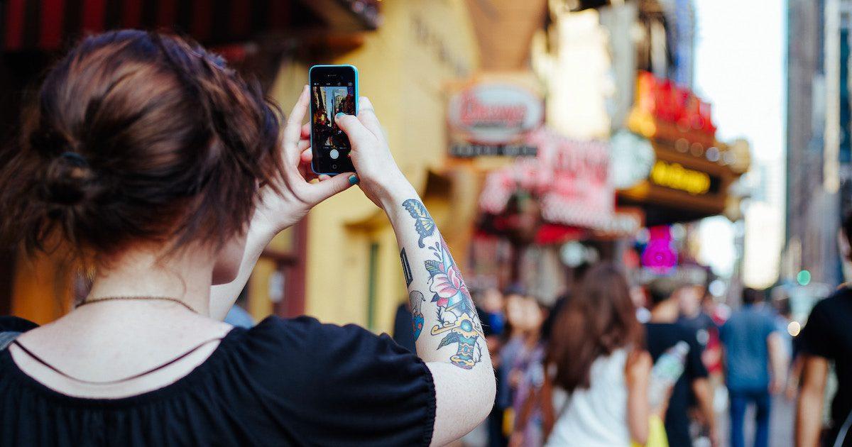 Generation Z using video app