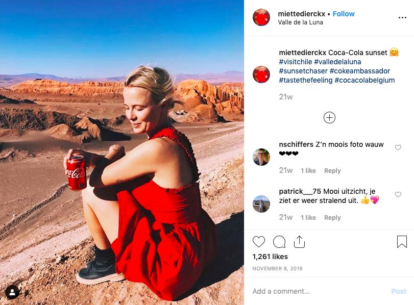 Coca Cola Partners with Miette Dierckx