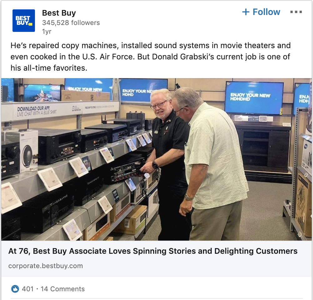 Best Buy Shows They Have Heart