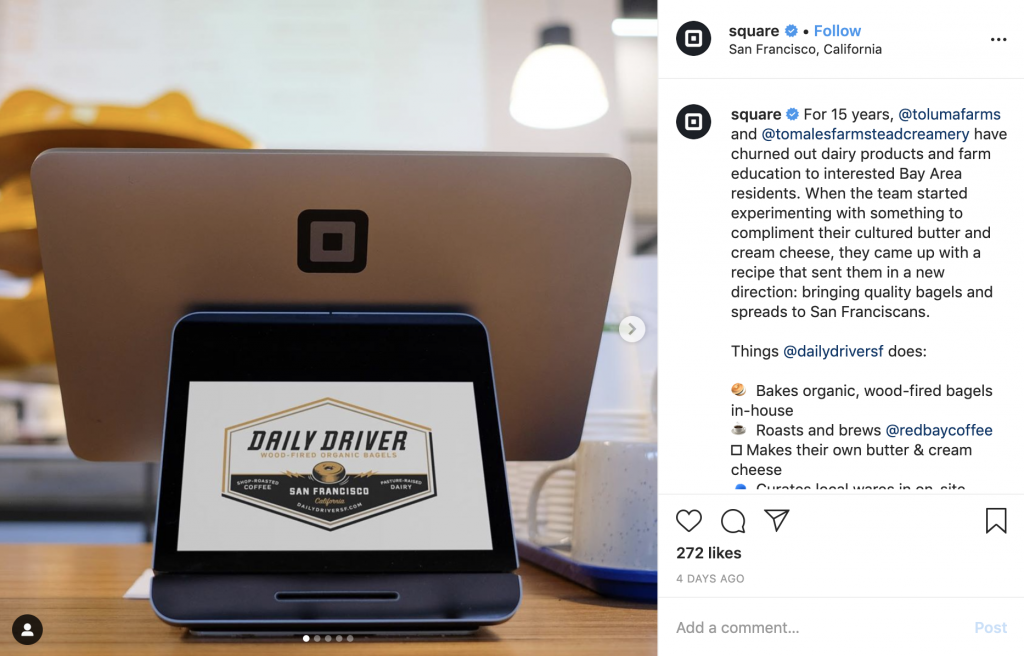 Square Focuses on Client Promotion